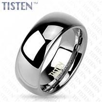 TIS0001 pánský snubní prsten tisten 8 mm
