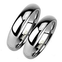 TIS0001 Tistenové snubní prsten 4 mm  - pár