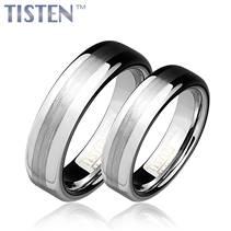 TIS0009 Tistenové snubní prsteny - pár