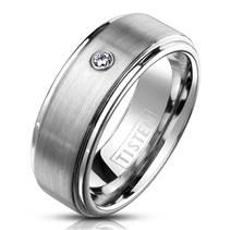 TIS0012 Snubní prsten TISTEN se zirkonem
