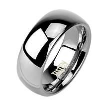 Tistenový prsten leštěný, šíře 8 mm