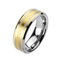 Wolframový prsten, šíře 8 mm