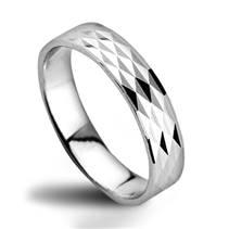 ZB52520 Dámský snubní prsten stříbrný