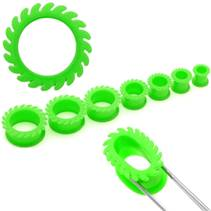 Zelený silikonový tunel